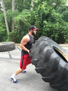 Tire Flippin July 2015