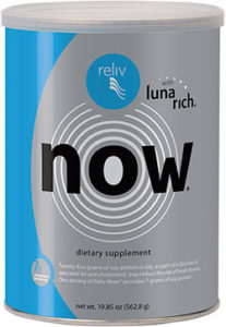 A can of Reliv Now powder mix